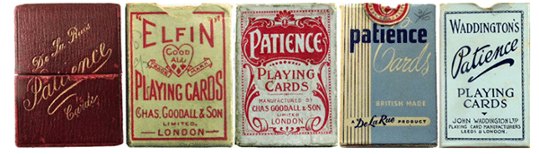 Historische Patience kaarten