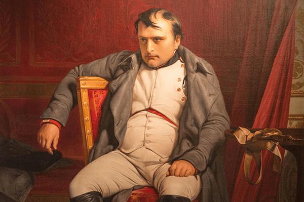 Napoleon Bonaparte in de tijd dat hij Solitaire speelde