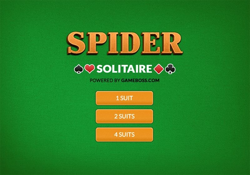 Speel Spider Solitaire