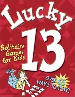 Boek lucky13 solitaire for kids