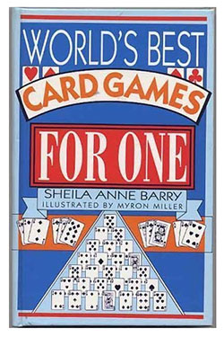 Boek worlds best card games for one