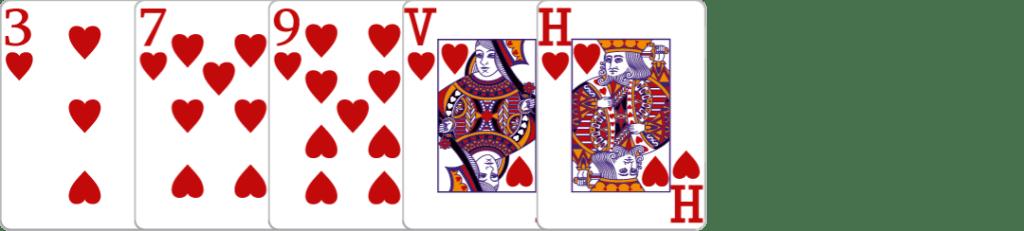 let-it-ride-flush-met-harten-kaarten