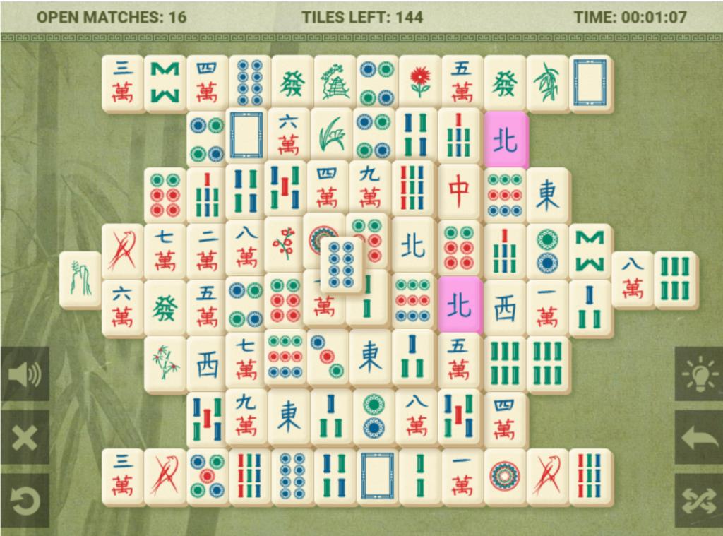 mahjong-classic-speelveld-bij-aanvang-van-het-spel