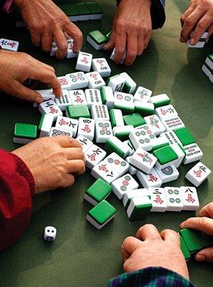 Mahjong Playing
