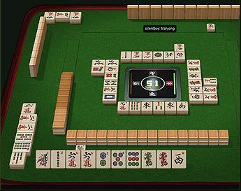 Mahjong Tafel